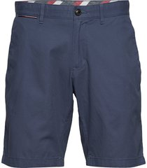 brooklyn short light twill shorts chinos shorts blå tommy hilfiger
