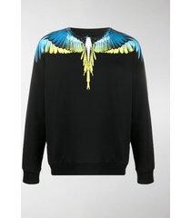 marcelo burlon county of milan wings crew-neck sweatshirt