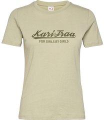 mlster tee t-shirts & tops short-sleeved grön kari traa