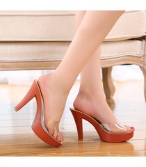 ps290 cutie crystal high-heeled sandals, size 35-40, red