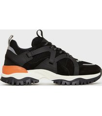 selected homme slhadam trail trainer w sneakers svart