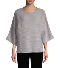 english-ribbed cashmere pullover