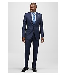 reserve collection tailored fit wide stripe liberty men's suit - big & tall by jos. a. bank