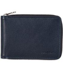 calvin klein men's rfid slimfold wallet
