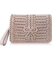 anya hindmarch designer handbags, woven calf leather the neeson crossbody bag