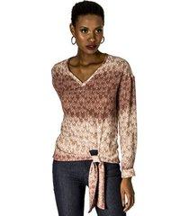 blusa amarração cintura alphorria a.cult