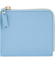 comme des garcons wallets ruby eyes graphic half-zip wallet in blue at nordstrom