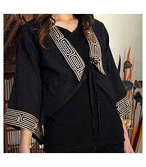 cotton blouse, 'thai deluxe' (thailand)