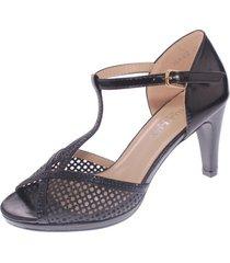 zapato fiesta negro hualun