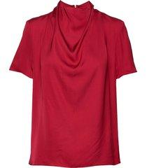 volona blouses short-sleeved rood tiger of sweden