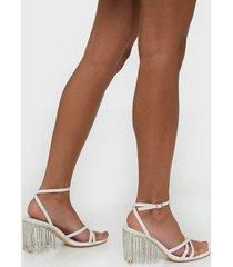 nly shoes sparkling heel sandal high heel