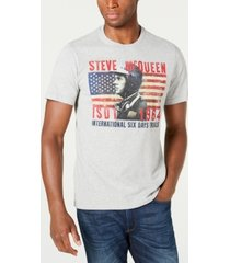 barbour international steve mcqueen men's isdt profile t-shirt, created for macy's