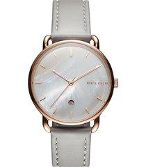 zegarek denka grey pearl