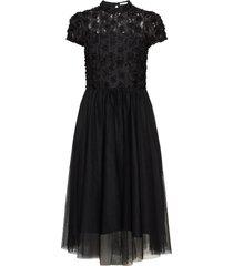 mollie dress jurk knielengte zwart ida sjöstedt