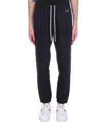 low brand pants in black linen