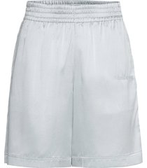 silk short.str silk shorts flowy shorts/casual shorts grå helmut lang