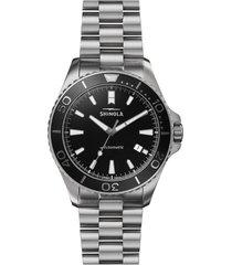 shinola monster automatic bracelet watch, 43mm