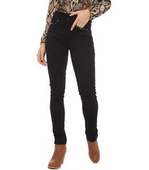 pantalón tentation liso negro - calce ajustado