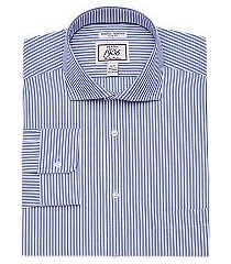 1905 collection slim fit cutaway collar comfort stretch stripe dress shirt clearance, by jos. a. bank