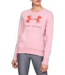 buzo under armour 12.1 rival fleece mujer