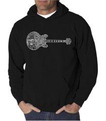 la pop art men's word art hooded sweatshirt - blues legends