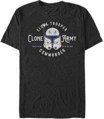 fifth sun men's clone army emblem short sleeve crew t-shirt