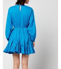 rhode women's ella dress - deep blue sky - s
