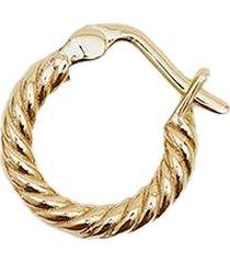 serge denimes gold twisted earring g-twh-ear