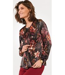 blouse mona zwart::braam::pink