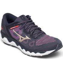 wave horizon 5 shoes sport shoes running shoes lila mizuno