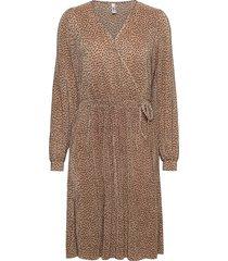 sc-nellie knälång klänning brun soyaconcept