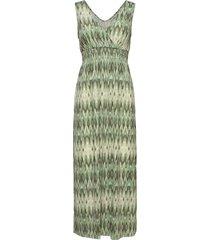 framselfa 2 dress maxiklänning festklänning grön fransa