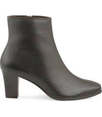 ankle boot couro mr cat comfort new feminina - feminino