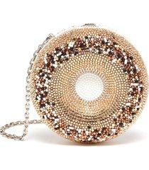 everything bagel' crystal embellished crossbody bag