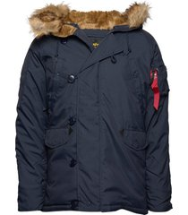 explorer w/o patches parka jas blauw alpha industries