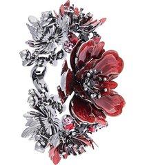 marchesa poppy bracelet - red