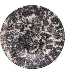 conjunto de 6 pratos fundos 20,5cm unni rock - multicolorido - dafiti