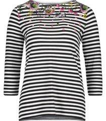 betty barclay - 3872 2903 8813 steepjes t-shirt met bloemen