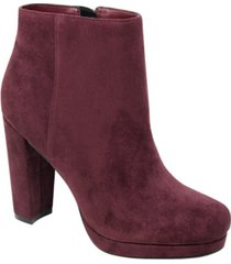 charles by charles david women's chasen platform booties women's shoes