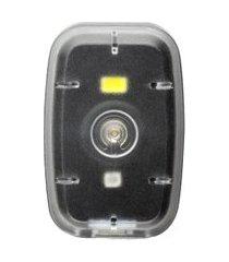 farol clip luz dianteiro 20l e traseiro 2l átrio bi187 250mah usb