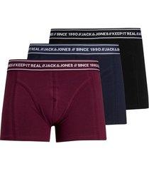 boxers jack & jones lot de 3 boxer trois couleurs