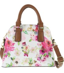 bolso floral dome para mujer minicci payless