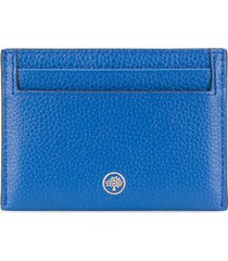 mulberry continental card holder - blue