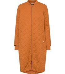 thermo jacket lara adult kviltad jacka orange wheat