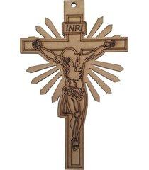 crucifixo d'rossi mdf bege