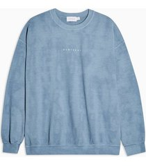 mens blue montreal sweatshirt