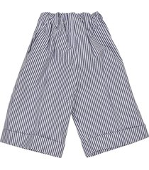 paio crippa striped trousers