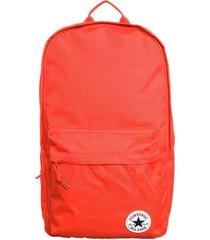 mochila roja converse edc poly backpack
