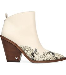 ilah leather western booties