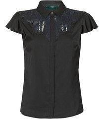 blouse guess ss renata top
